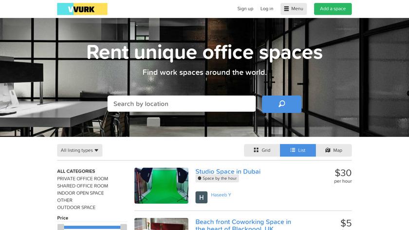Startupbnb Landing Page