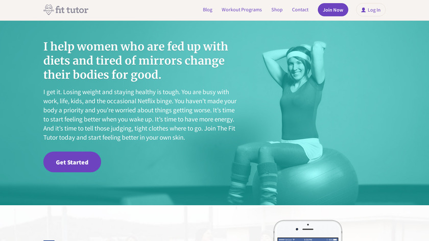 The Fit Tutor Landing Page