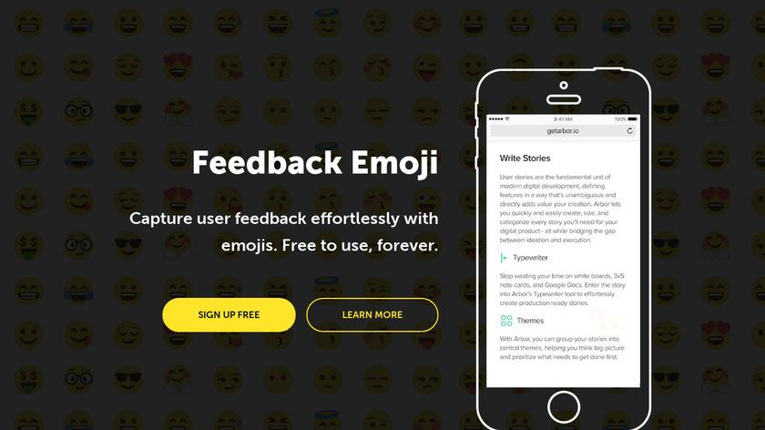 Feedback Emoji Landing Page