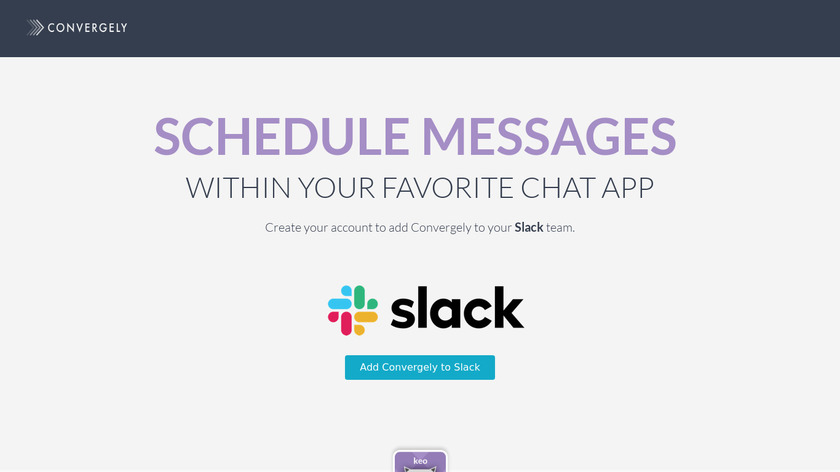Slater by Convergely Landing Page