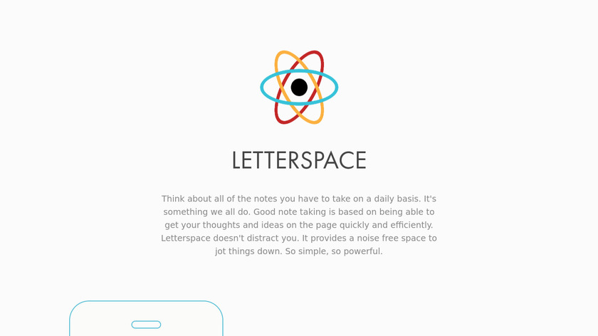 Letterspace Landing Page