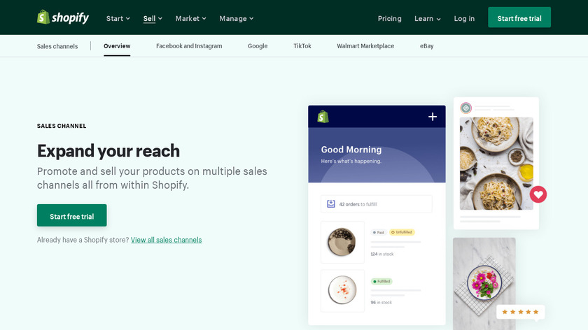 BuzzFeed Channel for Shopify Landing Page