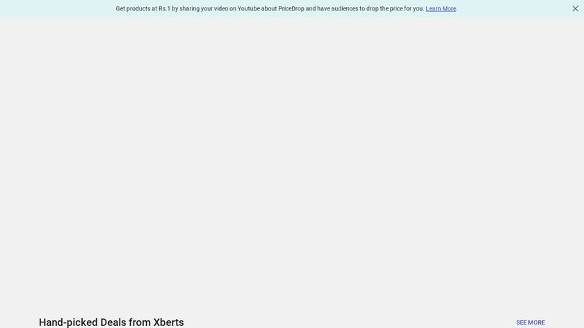 Xberts Landing Page