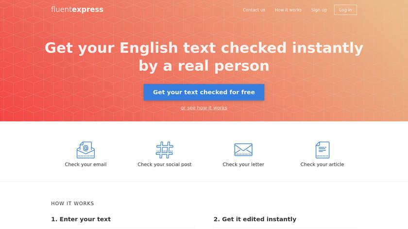 Fluent.express Landing Page