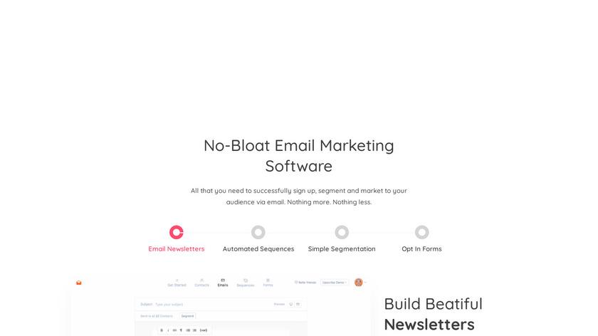 Upscribe Landing Page