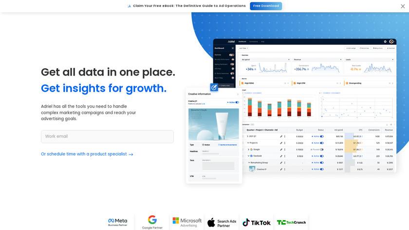 Adriel Landing Page