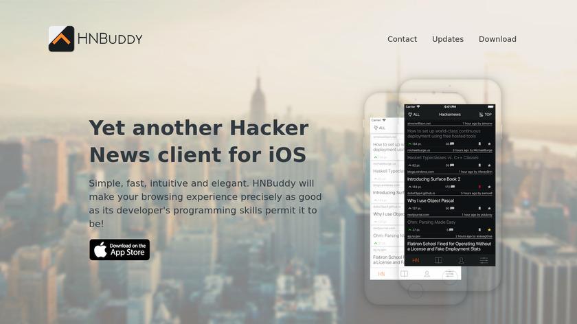 HNBuddy Landing Page
