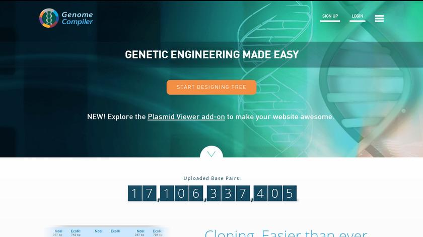 Genome Compiler Landing Page