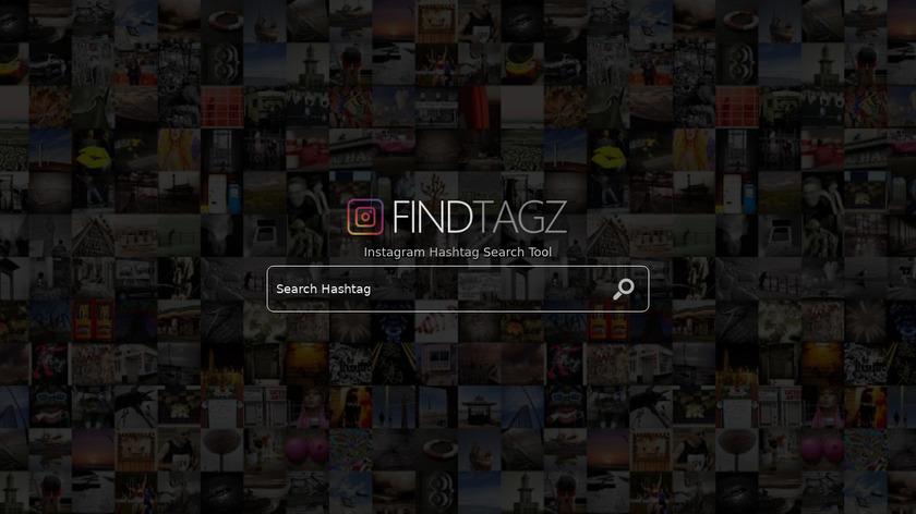 FindTagz.com Landing Page