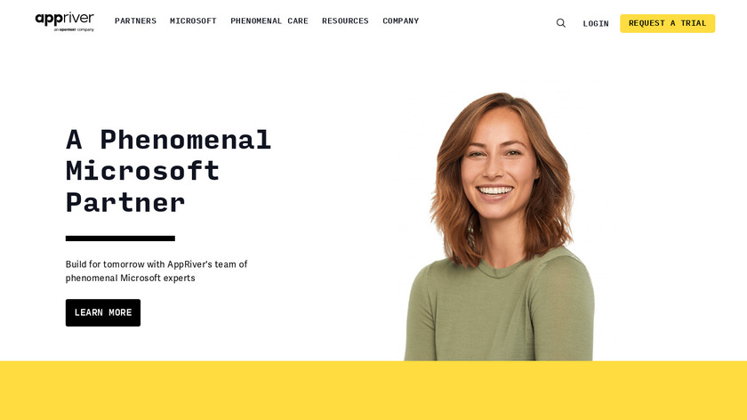 Appriver Landing Page