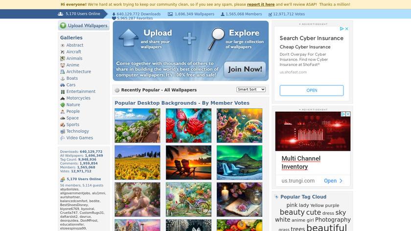 Desktop Nexus Landing Page