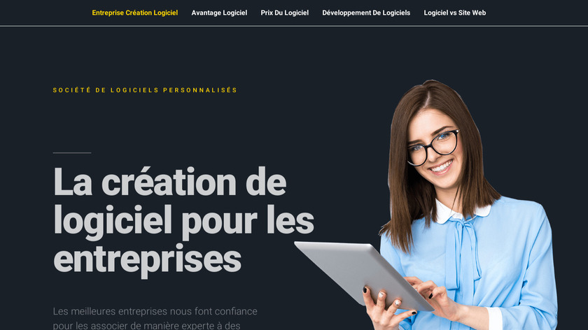 Responsive View Landing Page