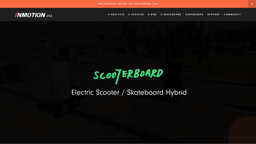 Scooterboard Landing Page