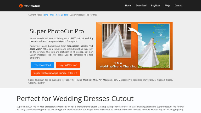 Photo Background Remover Landing Page