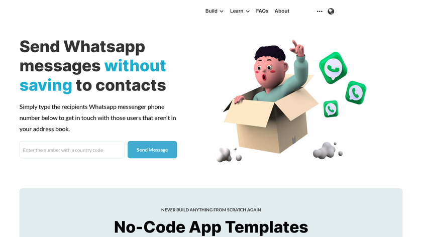 Whatsapp Quick Messages Landing Page