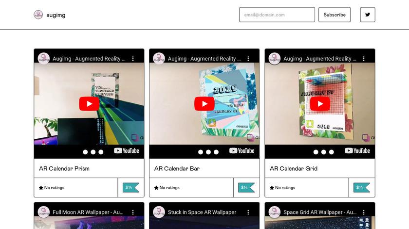 Augimg Landing Page