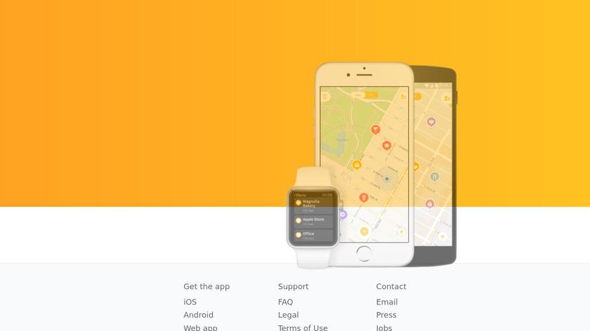 Mapstr Landing Page