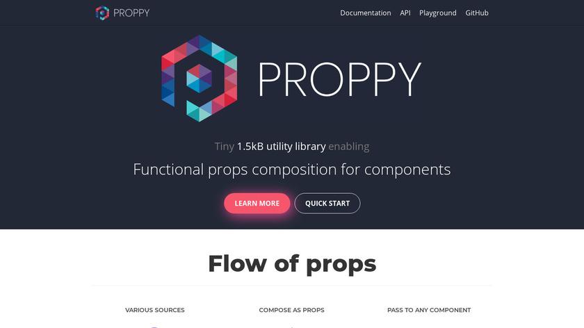 ProppyJS Landing Page