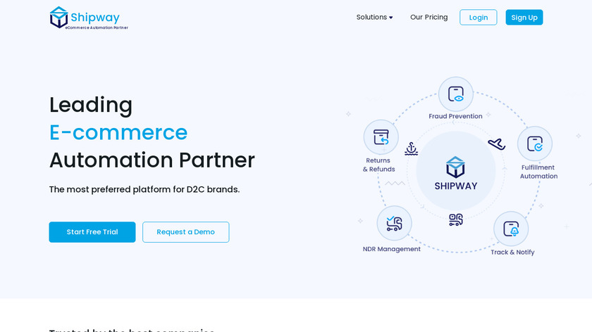 Shipway.in Landing Page