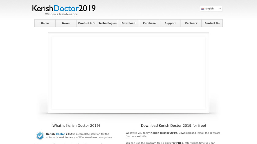 Kerish Doctor Landing Page