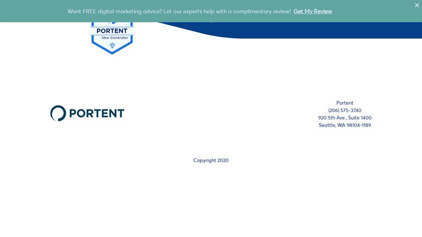 Content Idea Generator Landing Page