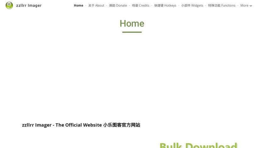 zzllrr Imager Geek Landing Page