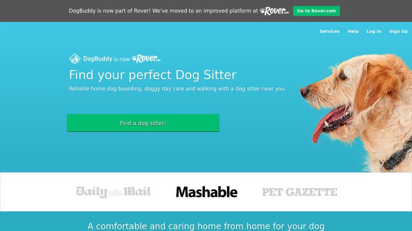 DogBuddy Landing Page