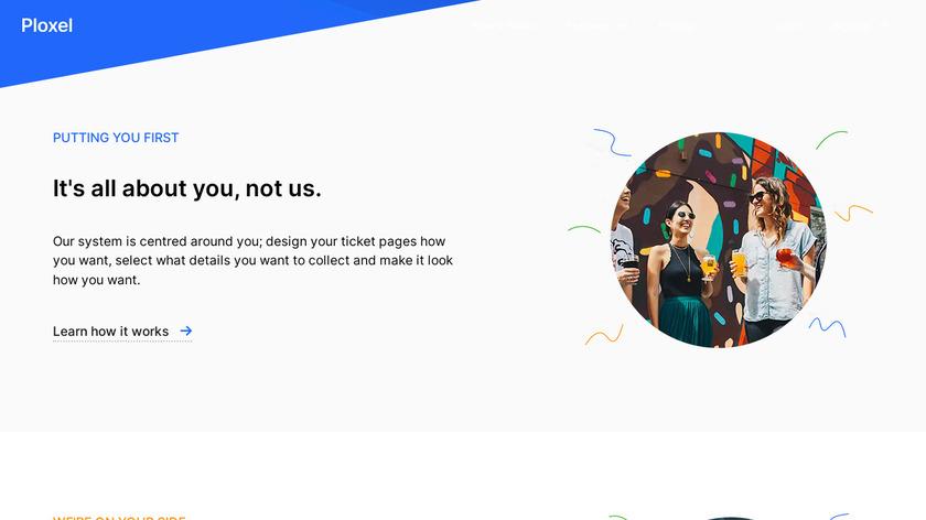 Ploxel Landing Page