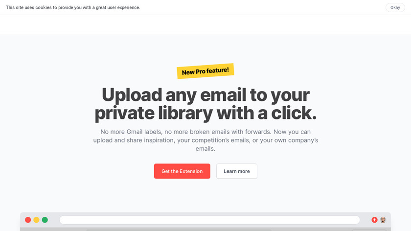 Really Good Emails Landing Page