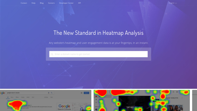 Competitive Heatmap Analysis Landing Page