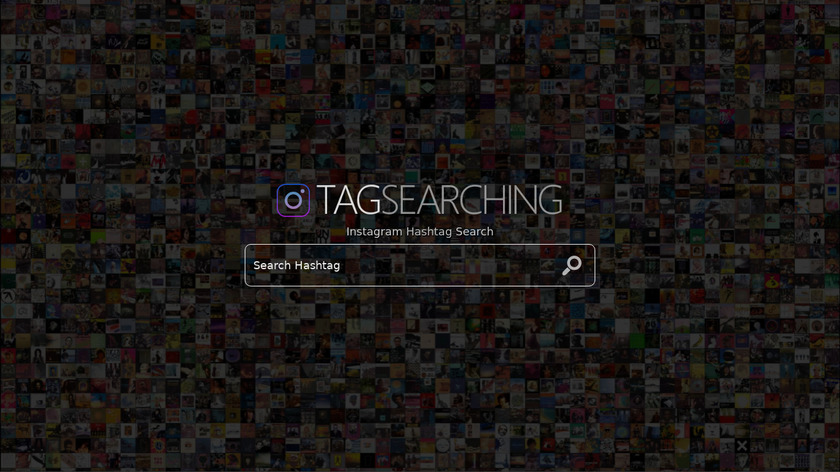 TagSearching.com Landing Page