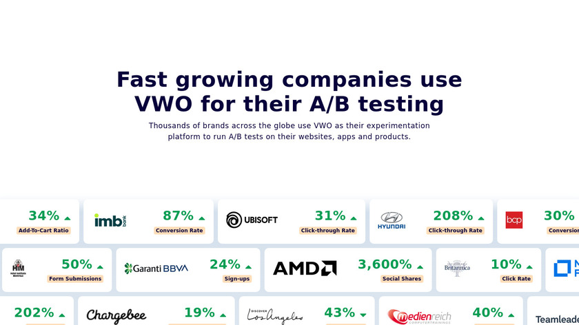 VWO Landing Page