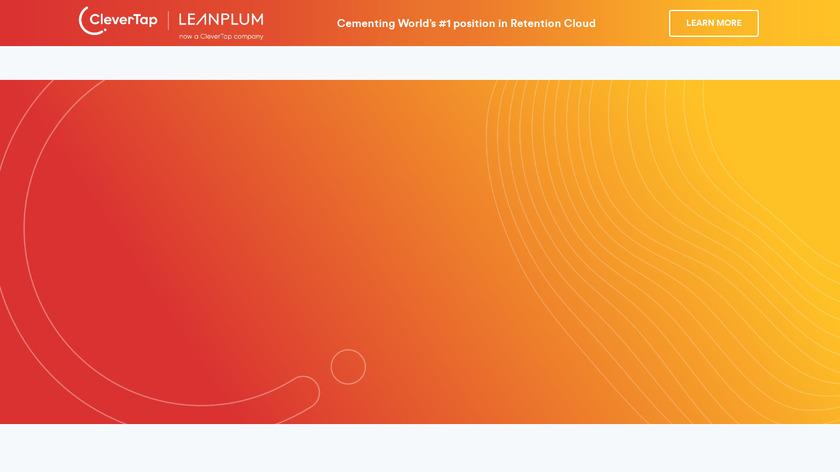 LeanPlum Landing Page
