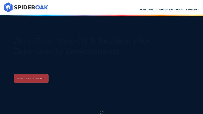 SpiderOak Landing Page