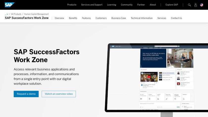 SAP Jam Landing Page