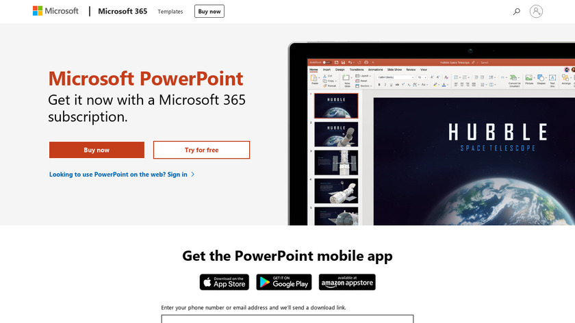 Powerpoint Landing Page