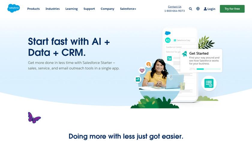RelateIQ Landing Page
