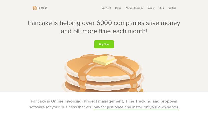 Pancake Payments Landing Page