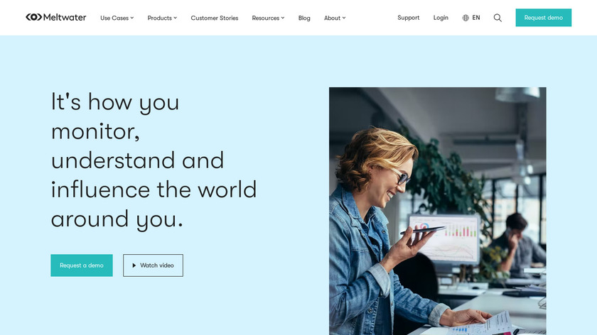 Meltwater Landing Page