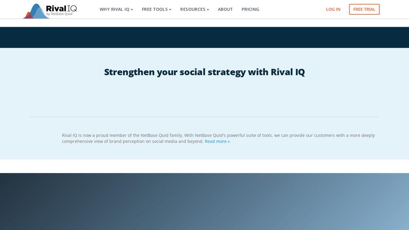 Rival IQ Landing Page