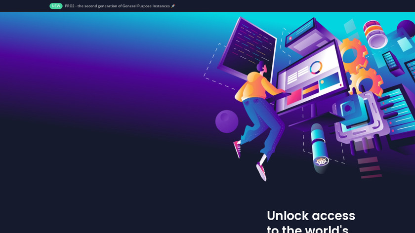 Scaleway Landing Page