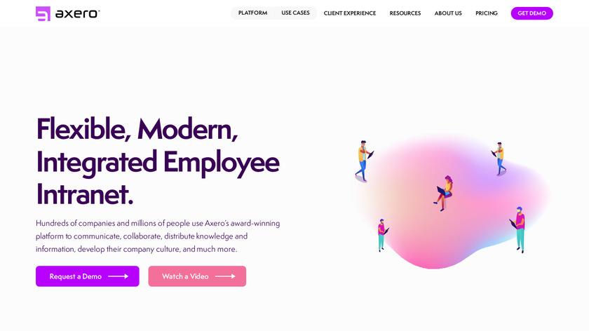 Communifire Landing Page