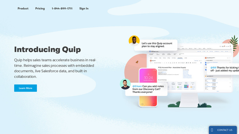 Quip Landing Page