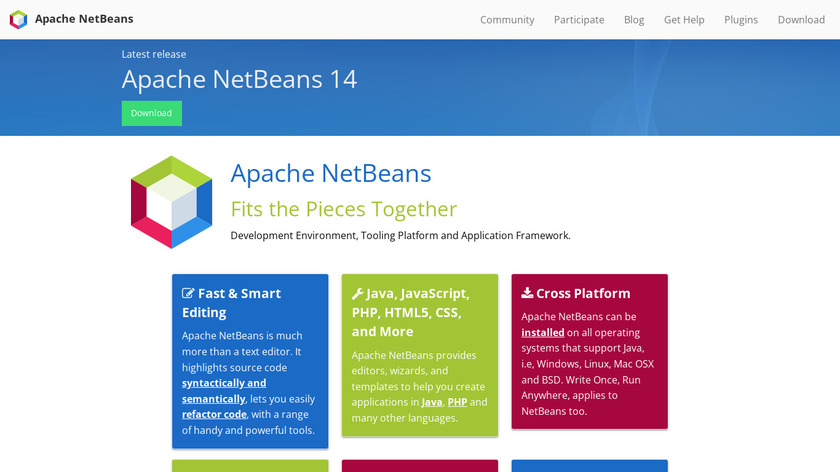 Netbeans Landing Page