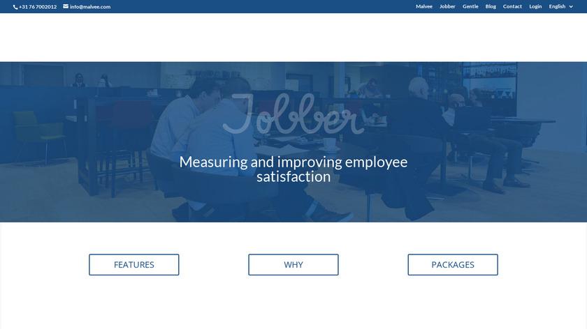 Malvee Jobber Landing Page