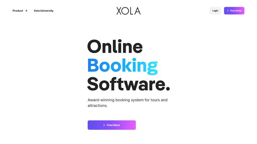 Xola Landing Page