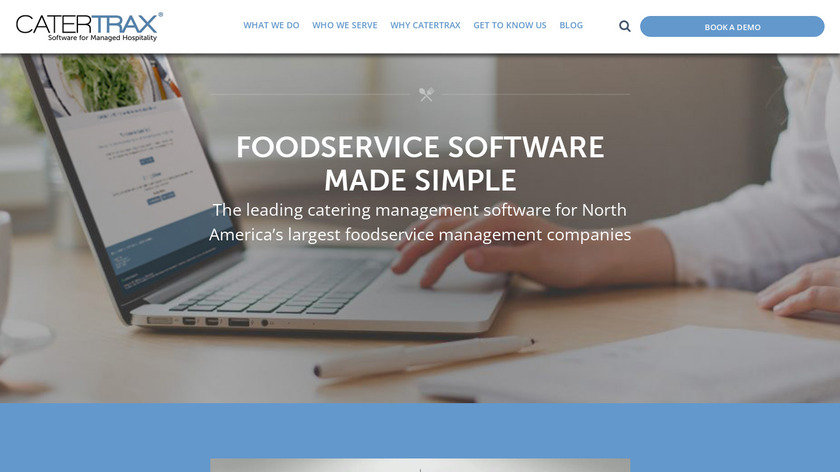 CaterTrax Landing Page