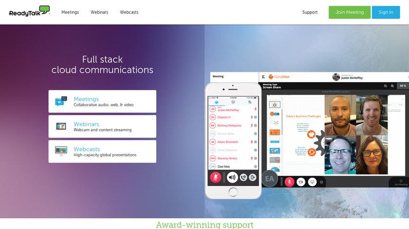 ReadyTalk Landing Page
