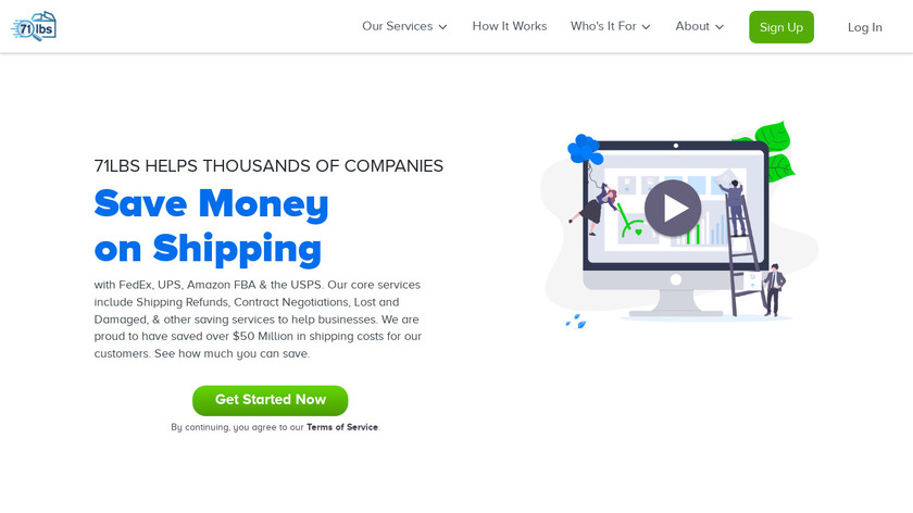 71lbs Landing Page