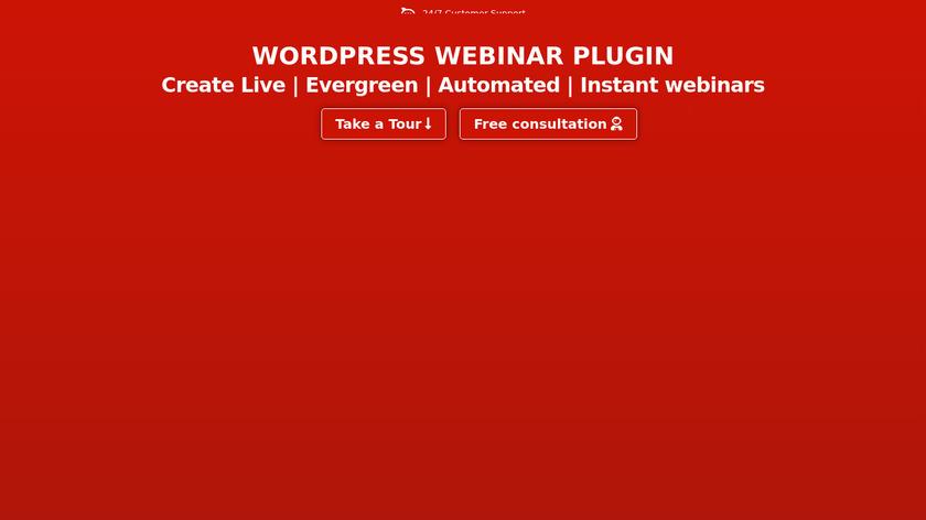 WebinarIgnition Landing Page